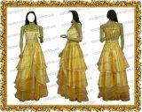 金色のコルダ 山吹色ドレス 日野香穂子風 ●コスプレ衣装