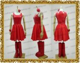 芸能人衣装 浜崎あゆみ 浜崎あゆみ風 舞台 ライブ 赤ドレス ●コスプレ衣装