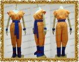 ドラゴンボールZ 孫悟空風 超サイヤ人 オレンジ ●コスプレ衣装