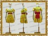 ディズニー ハロウィン ミニーマウス風 水玉 金 ●コスプレ衣装