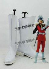SEED シャア·アズナブル コスプレ靴 ブーツ