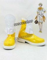 美男高校地球防衛部LOVE! 鳴子硫黄 コスプレ靴 ブーツ