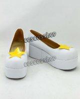 カードキャプターさくら 木之本桜風 15 コスプレ靴 ブーツ