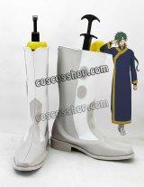 暁のヨナ ジェハ風 コスプレ靴 ブーツ