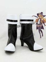 東方Project 霧雨魔理沙風 03 コスプレ靴 ブーツ