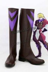 ジョジョの奇妙な冒険 ディオ・ブランドー風 コスプレ靴 ブーツ