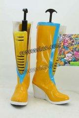 ジョジョの奇妙な冒険 ストーン・オーシャン 空条徐倫風 コスプレ靴 ブーツ