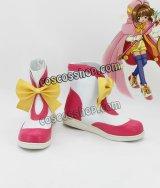 カードキャプターさくら 木之本桜風 きのもとさくら 16 コスプレ靴 ブーツ