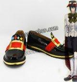ハートの国のアリス ブラッド=デュプレ風 帽子屋 コスプレ靴 ブーツ