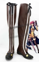 英雄伝説 閃の軌跡 サラ・バレスタイン風 コスプレ靴 ブーツ
