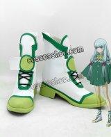 蒼き鋼のアルペジオ イオナ イ401風 コスプレ靴 ブーツ