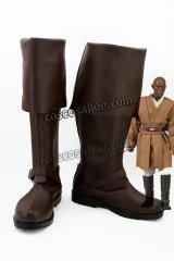 STAR WARS スター・ウォーズ メイス・ウィンドゥ風 コスプレ靴 ブーツ