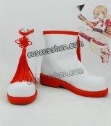 カードキャプターさくら 木之本桜風 17 コスプレ靴 ブーツ