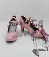 K RETURN OF KINGS ネコ neko風 コスプレ靴 ブーツ