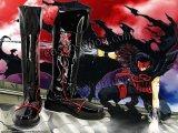 ツバサ-RESERVoir CHRoNiCLE- ツバサ・クロニクル 黒鋼風 コスプレ靴 ブーツ