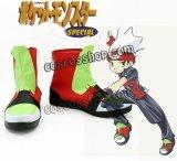 ルビー風 コスプレ靴 ブーツ