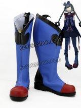 魔法少女まどか☆マギカ ワルプルギスの夜 影魔法少女風 コスプレ靴 ブーツ