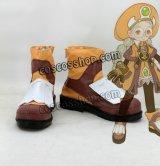 ドラゴンネスト Dragon Nest アカデミック風 コスプレ靴 ブーツ
