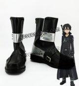 ソードアート・オンライン 桐ヶ谷和人 キリ風ト コスプレ靴 ブーツ