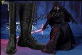 スター・ウォーズ フォースの覚醒 STAR WARS: THE FORCE AWAKENS カイロ・レン風 02 コスプレ靴 ブーツ