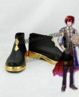 夢王国と眠れる100人の王子様 イノセントブライダル アヴィ風 コスプレ靴 ブーツ