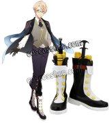 Fate Prototype 蒼銀のフラグメンツ Assassin ジキル博士風 コスプレ靴 ブーツ
