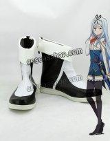 最弱無敗の神装機竜 バハムート クルルシファー・エインフォルク風 コスプレ靴 ブーツ