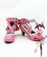 ラブライブ! LoveLive! 矢澤にこ風 バレンタインデー メイド コスプレ靴 ブーツ
