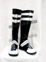 D.Gray-man 神田ユウ風 コスプレ靴 ブーツ