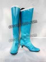 美少女戦士セーラームーン 水野亜美風 セーラーマーキュリー コスプレ靴 ブーツ