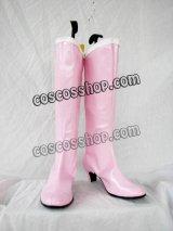 美少女戦士セーラームーン ちびうさ風 コスプレ靴 ブーツ