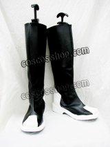 ZAFT ザフト風 黒 コスプレ靴 ブーツ