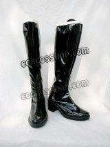 美少女戦士セーラームーン 冥王せつな風 セーラープルート コスプレ靴 ブーツ