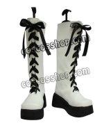 家庭教師ヒットマンREBORN! ベルフェゴール ヴァリアー コスプレ靴 ブーツ