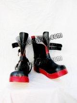 鋼の錬金術師 エドワ-ド·エルリック風 コスプレ靴 ブーツ