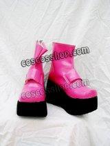 シルヴィア・ド・アリシア風 創聖のアクエリオン コスプレ靴 ブーツ