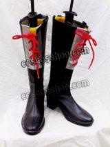 D.Gray-man ジャスデロ ビット風 コスプレ靴 ブーツ