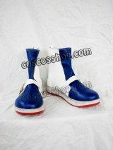 Ys Origin イース・オリジン イース・魔法使い ミュシャ風 コスプレ靴 ブーツ