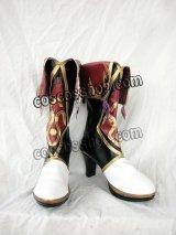 Ys Origin イース・オリジン 闇の一族 召喚術士 ザバ風 コスプレ靴 ブーツ