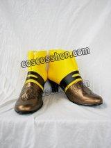 Ys Origin イース・オリジン 闇の一族 戦士・妹 エポナ風 コスプレ靴 ブーツ
