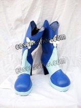 プリキュア Cure aqua 水無月かれん風 コスプレ靴 ブーツ