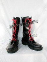 シューズ ゴスロリ ゴシック 万能風 34 コスプレ靴 ブーツ