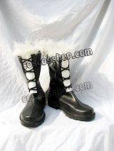 D.Gray-man ジャスデロ風 コスプレ靴 ブーツ