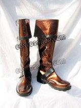 D.Gray-man ラビ風 05 コスプレ靴 ブーツ