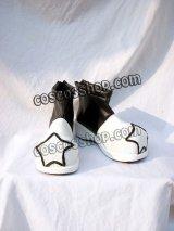 ソウルイーターSOUL EATER black star風 コスプレ靴 ブーツ