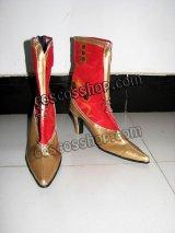ファイナルファンタジー ティナ・ブランフォード風 コスプレ靴 ブーツ