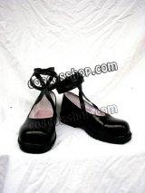 ローゼンメイデン カナリア風 コスプレ靴 ブーツ