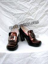 黒執事 シエル ファントムハイム風 07 コスプレ靴 ブーツ