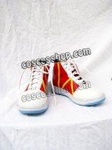 サトシ風 04 コスプレ靴 ブーツ