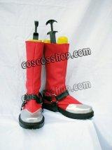 BLAZBLUE ブレイブルー ラグナ風 コスプレ靴 ブーツ